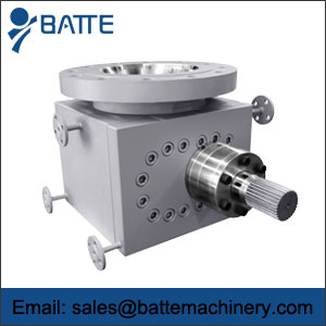 prepolymer melt pump